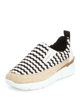 51906ebc306 Zigzag+Slip-On+Espadrille+Sneaker+by+MSGM+at+. Bergdorf GoodmanEspadrillesShoe  ...