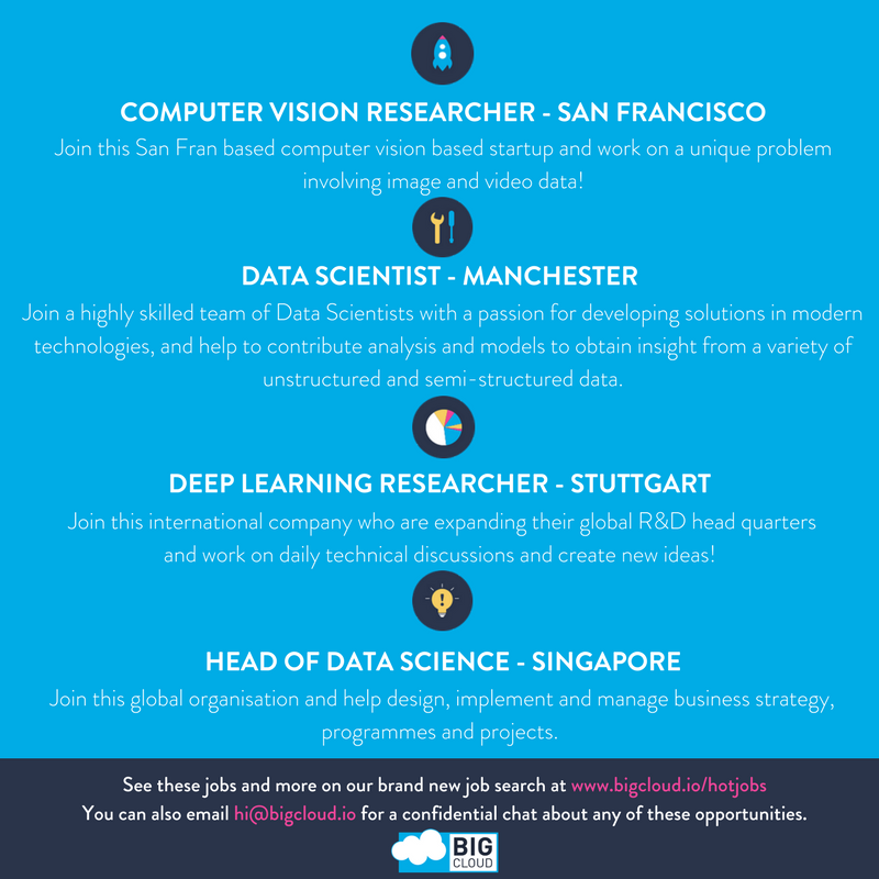 Hot Jobs In Data Science Machine Learning And Artificial Intelligence Apply Now Www Bigcloud Io Hotjobs Data Science Machine Learning Data Scientist