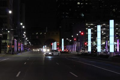 Lipstick Glowing on the Off Ramp: Congress Parkway's New Lighting