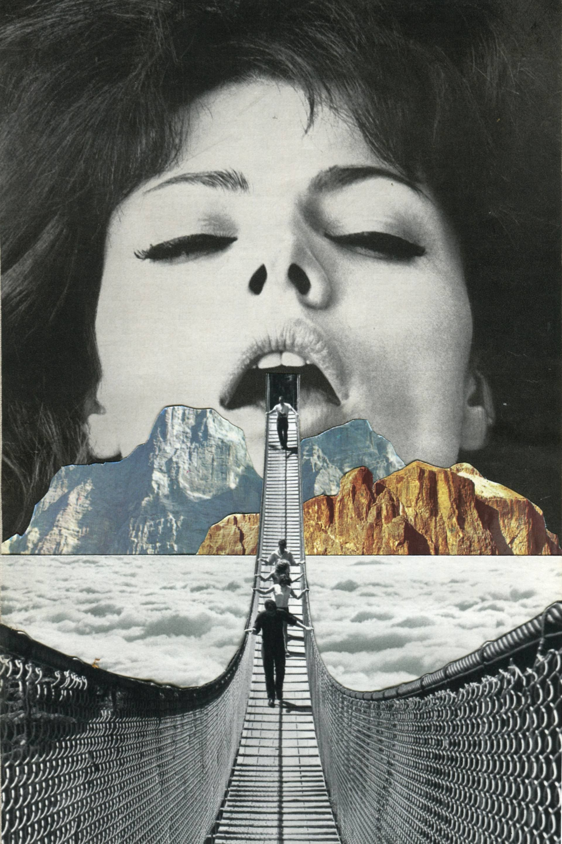 Sammy Slabbinck. Arte de collage, Fotomontaje, Collages