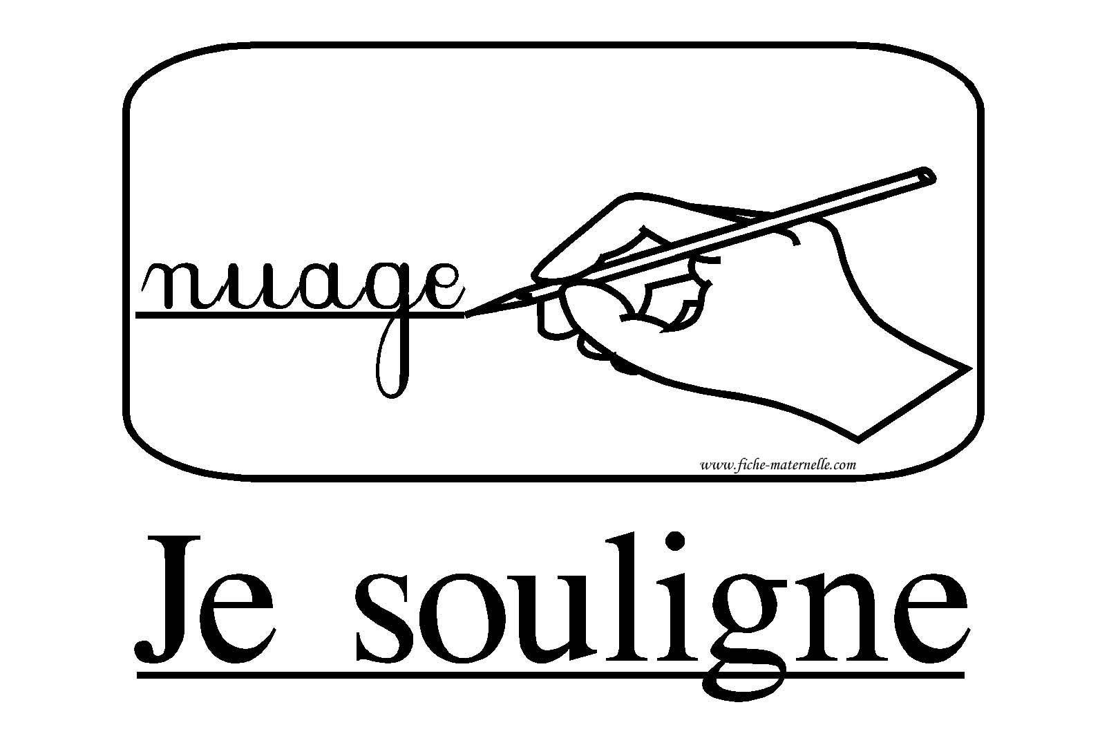 Ressources Pedagogiques Affichage Classe Consigne Je Souligne Classroom Management Techniques Teaching French Classroom Management