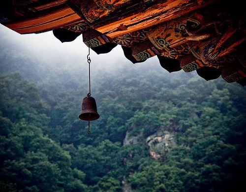 Pin by Beckie Martin Otero on f a i t h | temples + shrines | Bohemian garden, South korea, Temple bells