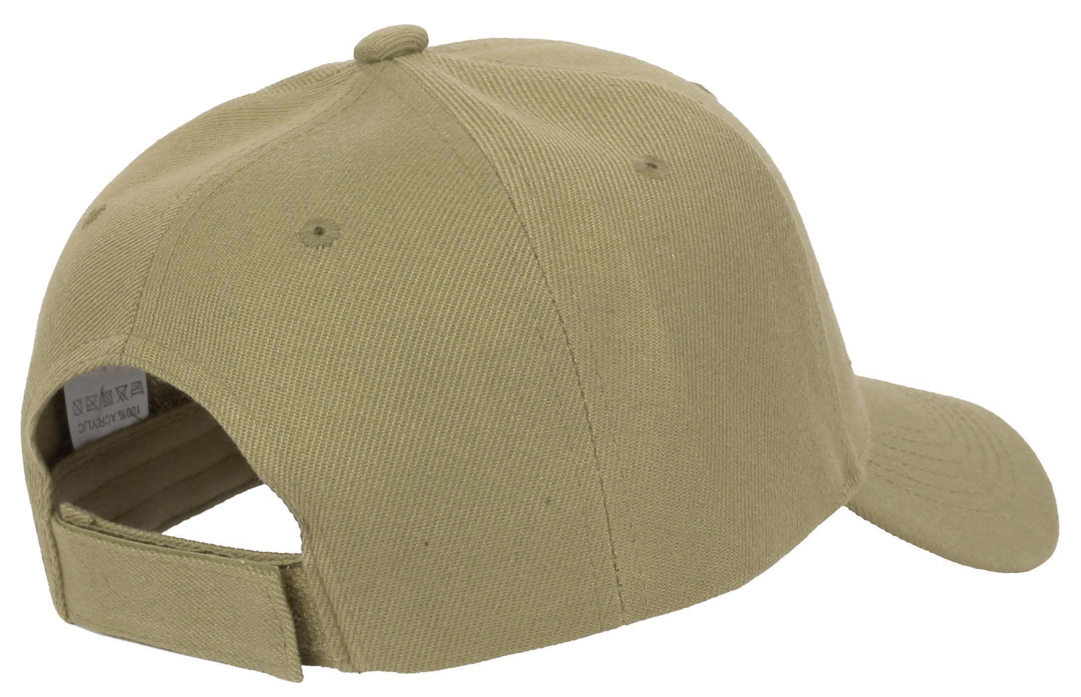 Solid Adjustable Velcro Baseball Cap