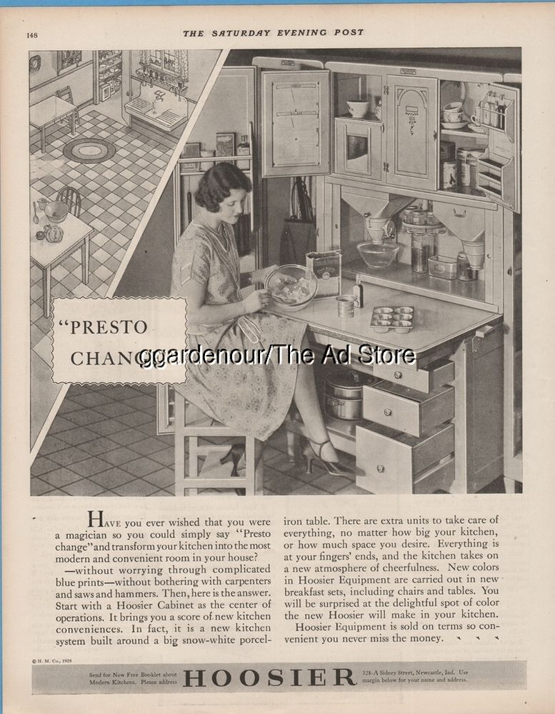 Hoosier Cabinets New Castle IN Indiana Presto Change Modern - Kitchen ad