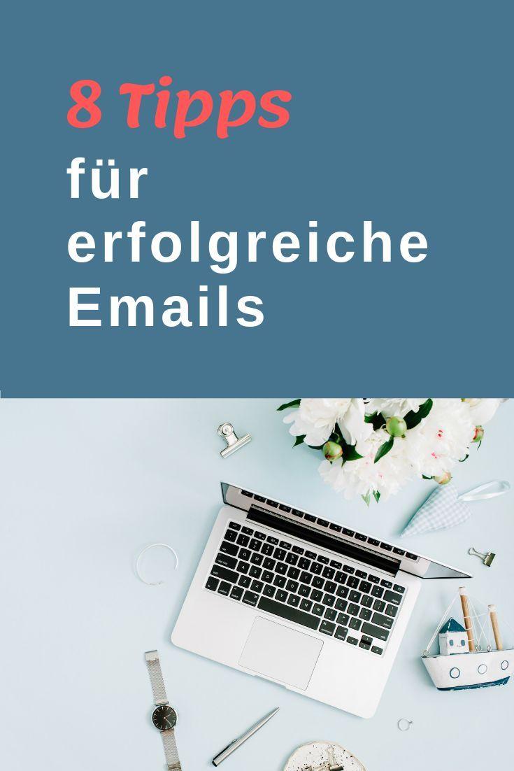 8 Tipps für erfolgreiche Emails | E mail marketing, Online ...