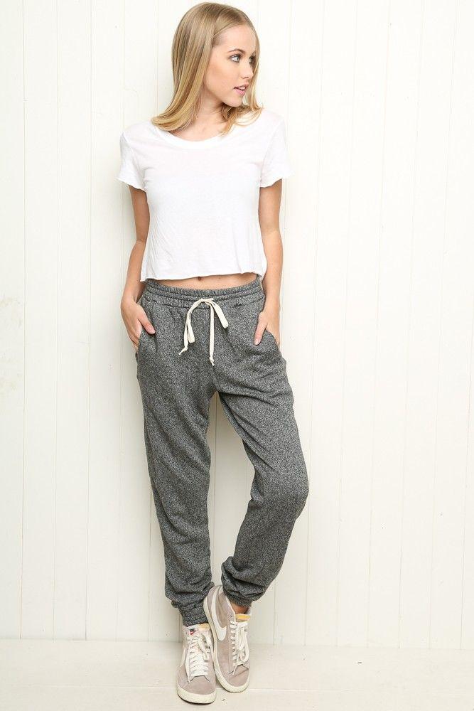 best service 3ac9f 6bd48 Brandy ♥ Melville   Rosa Sweatpants - Clothing
