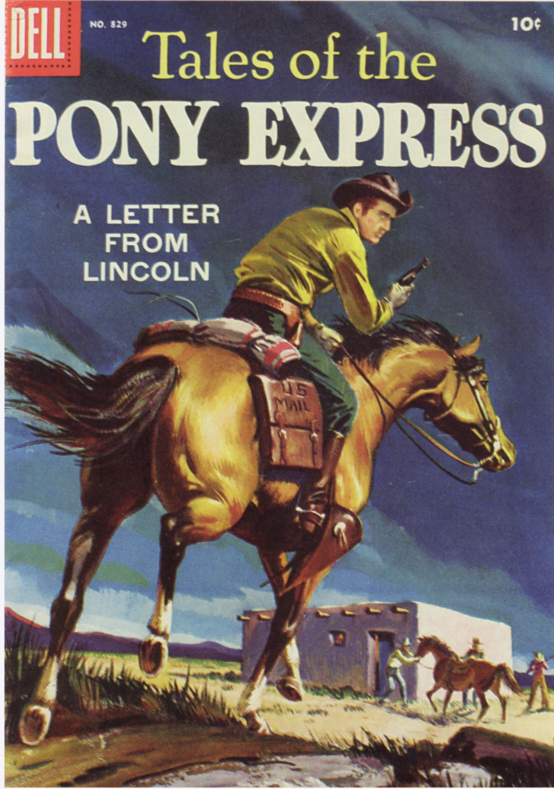 Pony Express poster. Smithsonian collection.