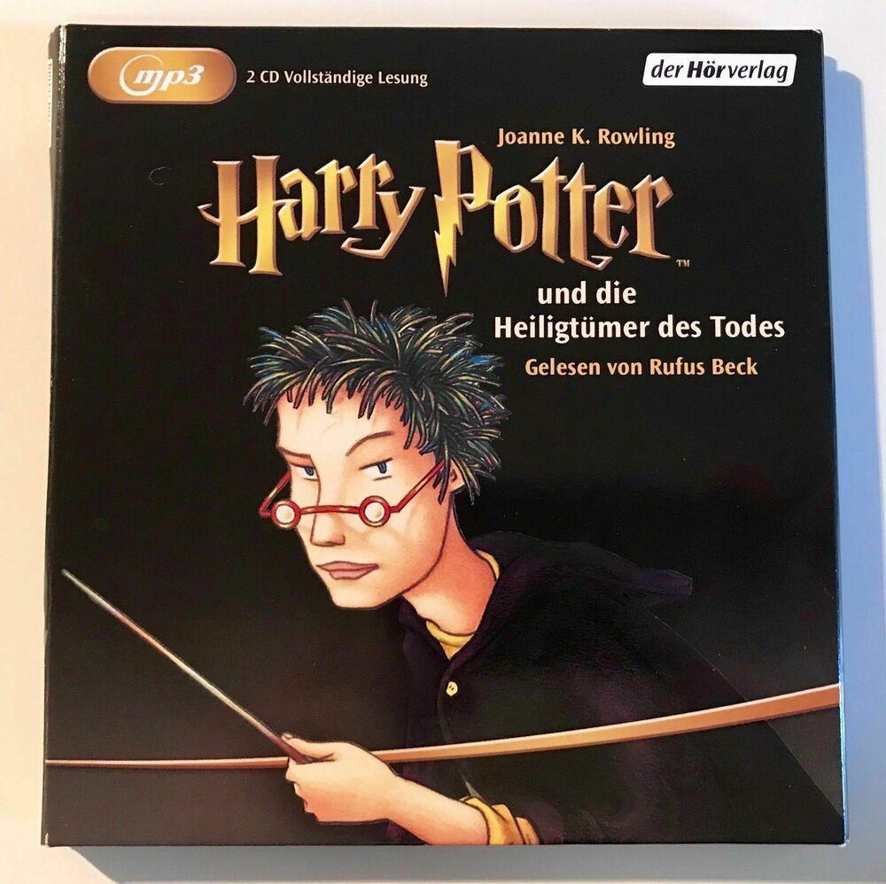 Jk Rowling Harry Potter Und Die Heiligtumer Des Todes Mp3 Horbuch Band 7 Rowling Harry Potter Horbuch Heiligtumer Des Todes