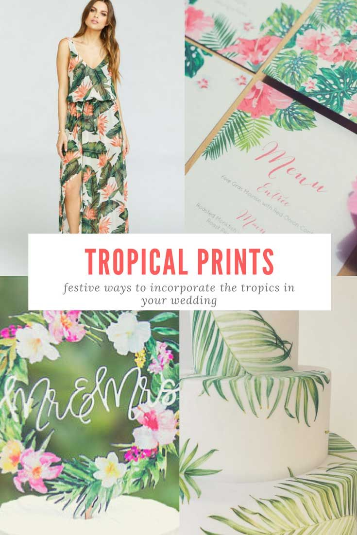 Tropical Island Wedding Theme – Get Wed Jamaica | Weddings in ...