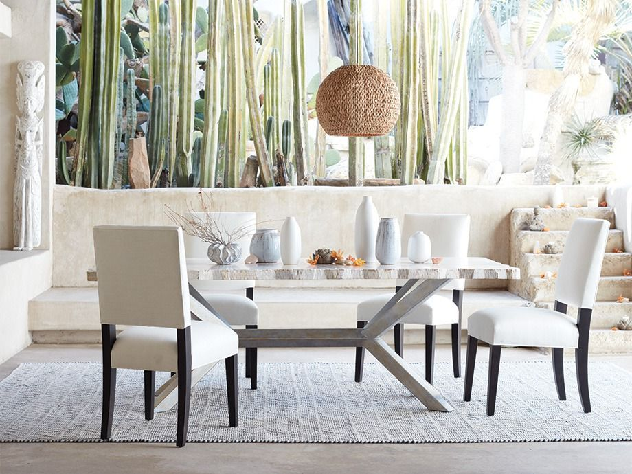 Petra Rectangle Dining Table Arhaus Furniture Tell A Story Each Piece Of Century Marble Used T Rectangle Dining Table Dining Table Marble Dinning Room Decor