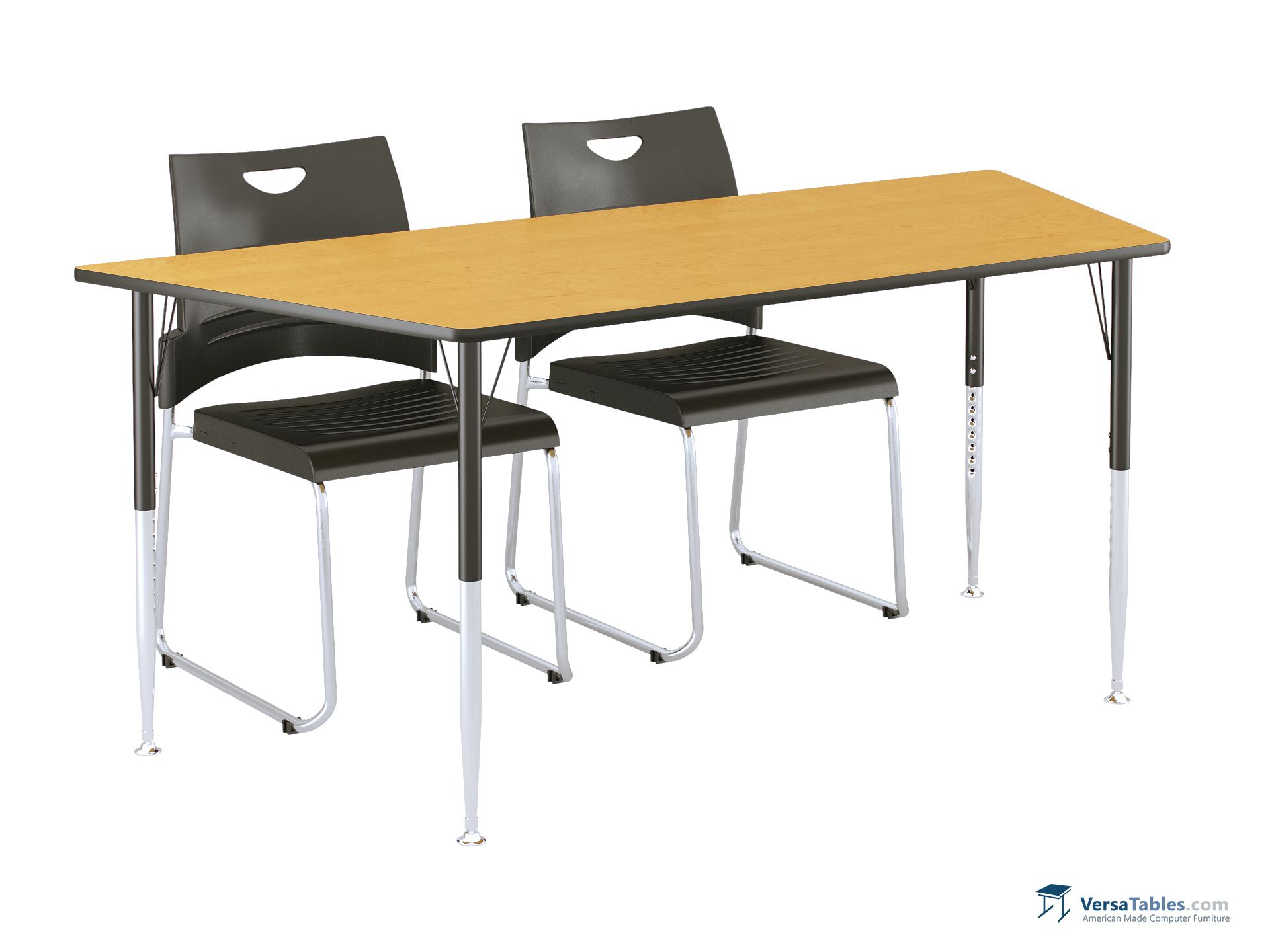 versa connect activity table trapezoid vcat trap series by versa