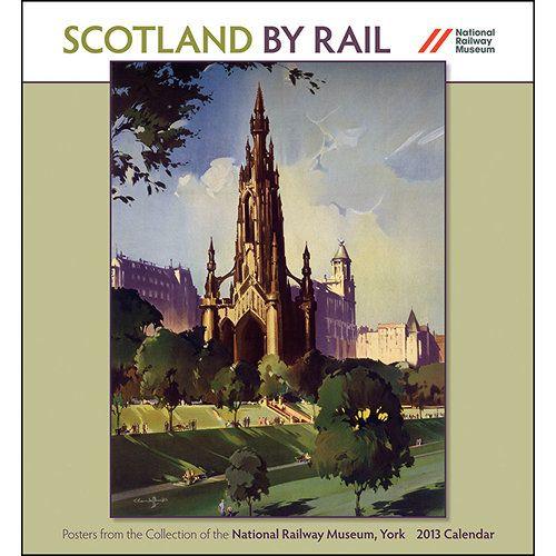 Scotland By Rail 2013 Wall Calendar