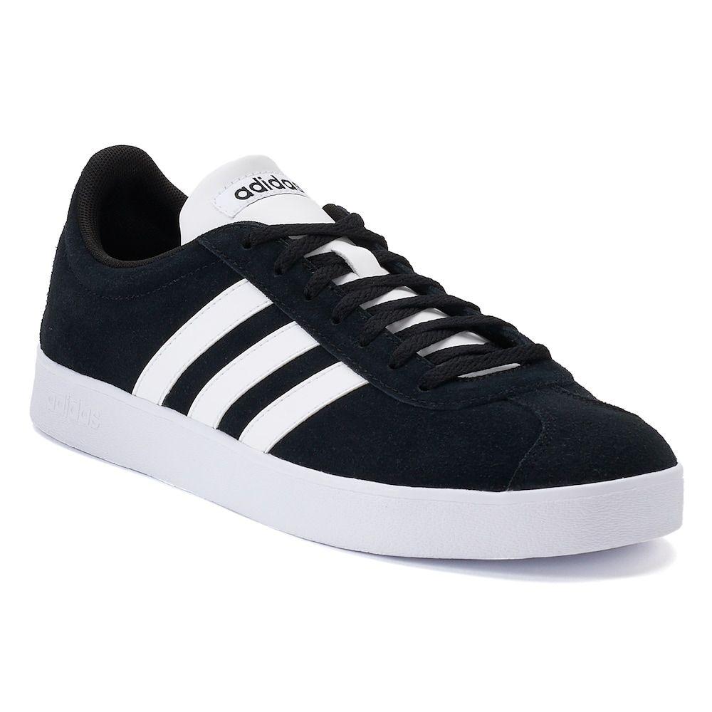 Adidas Men's VL Court 2.0 Black