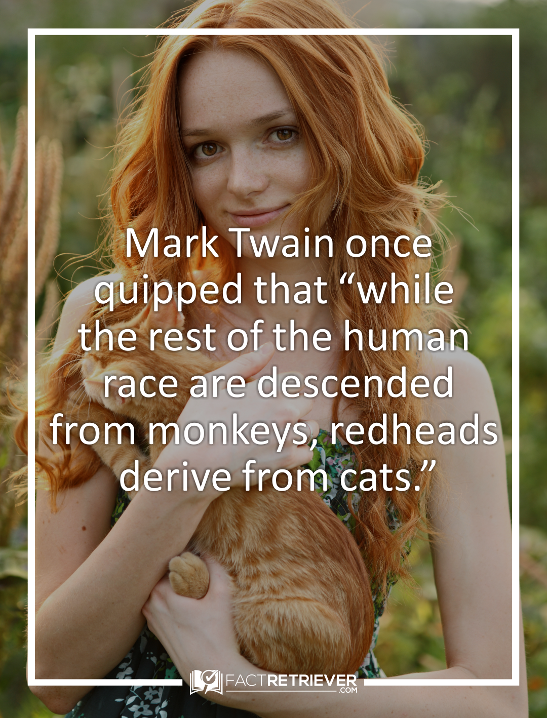 42 Interesting Facts About Redheads Factretriever Com Redhead Facts Red Hair Facts Redhead Quotes