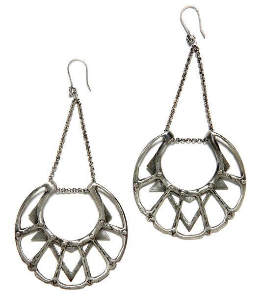Moon Chandelier Earrings