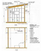 10x12 Lean To Shed Plans House Ideas In 2018 Pinterest Storage