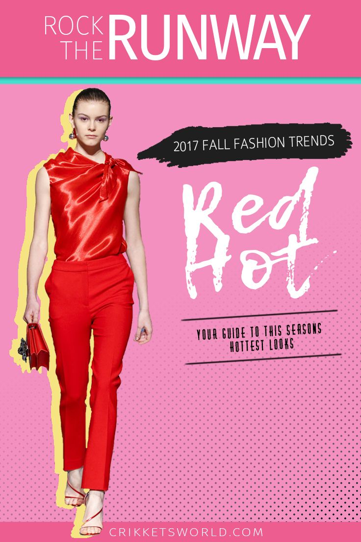 Check out my inspiration board for the hottest fall fashion