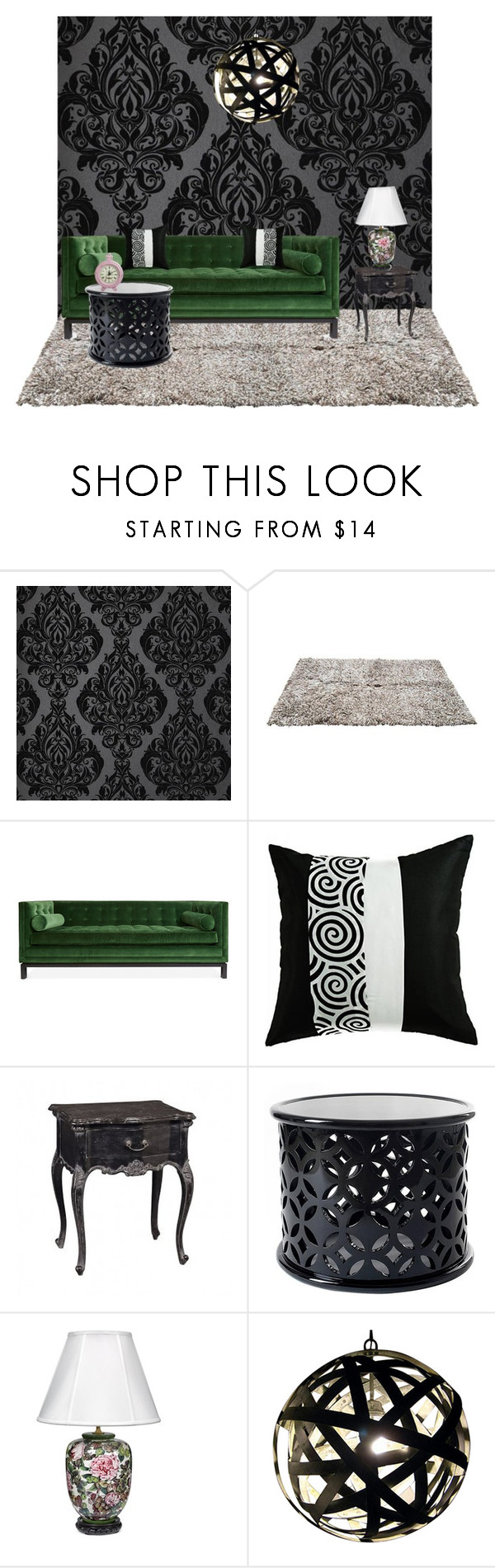"""""""Untitled #485"""" by rilakkuma394 ❤ liked on Polyvore featuring interior, interiors, interior design, home, home decor, interior decorating and Jonathan Adler"""
