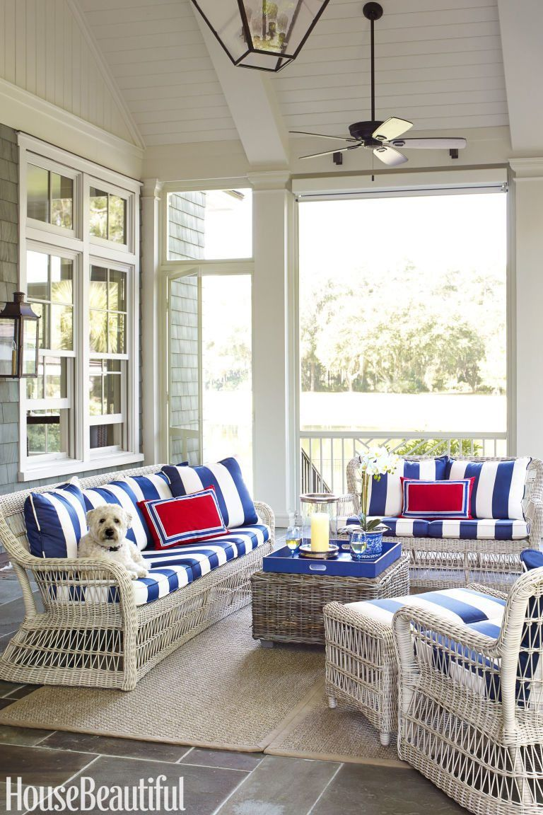 An All-American Summer House by Suzanne Kasler | Palmetto bluff ...