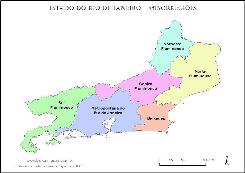 Rio De Janeiro Mapa Png.Mapas Do Estado Do Rio De Janeiro Em 2019 Mapa Rio De