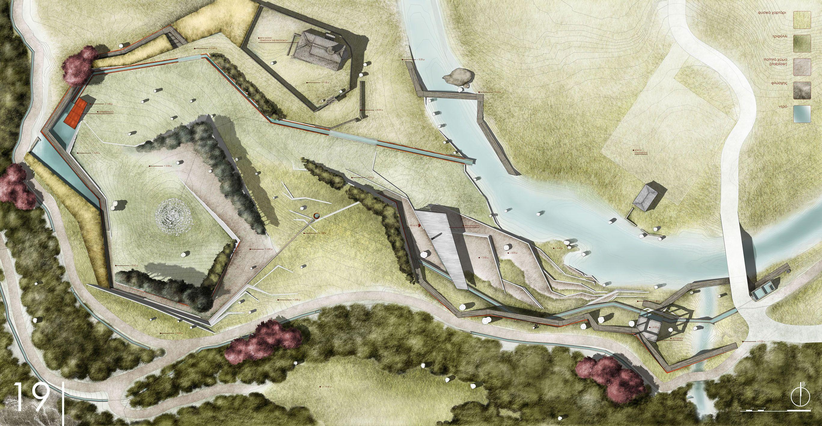 Master Plan By Valine07 On Deviantart Modern Landscape Design Master Plan Landscape Plans