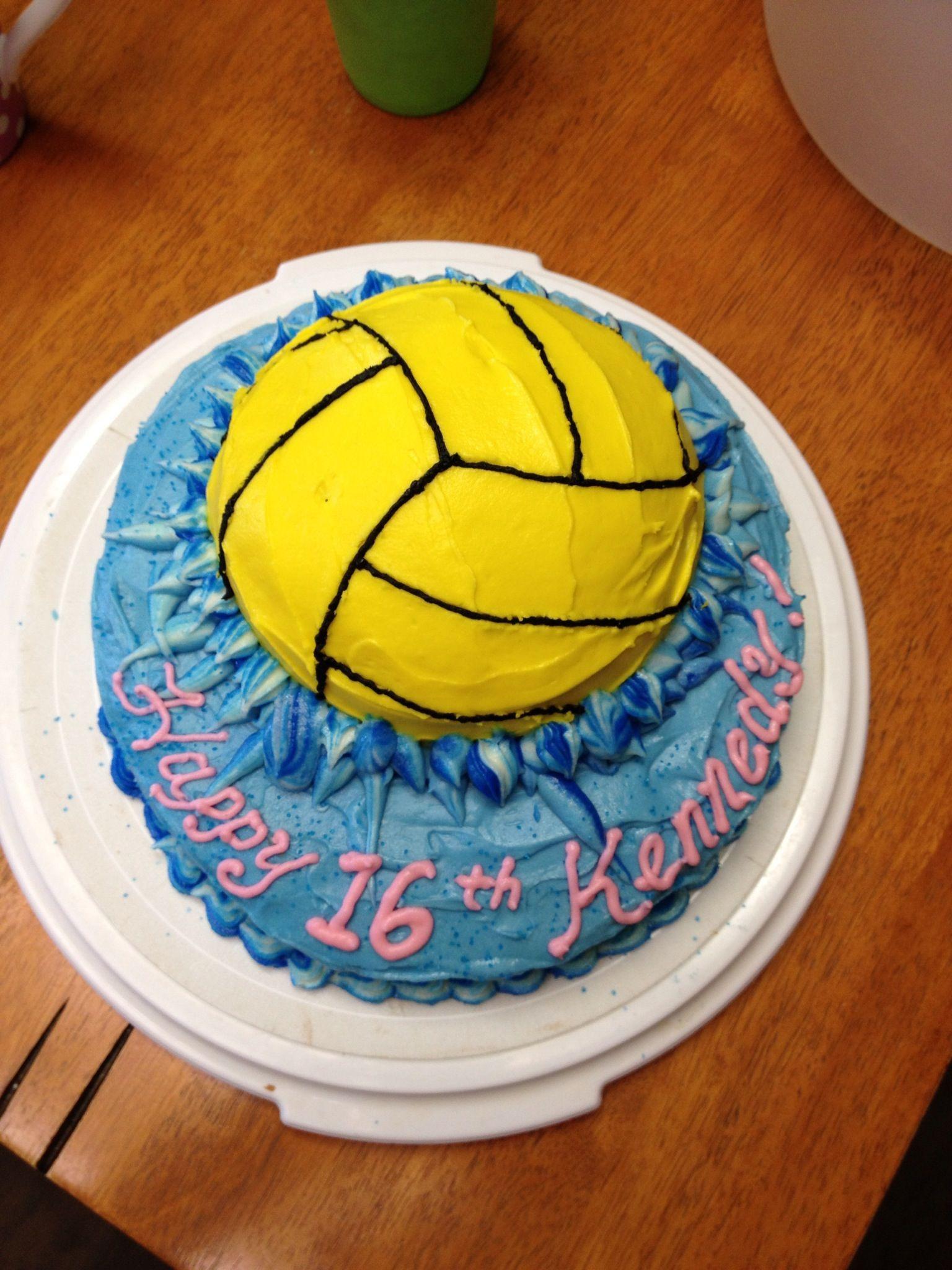 GlassyMama makes cakes too! ;) happy birthday K! Water