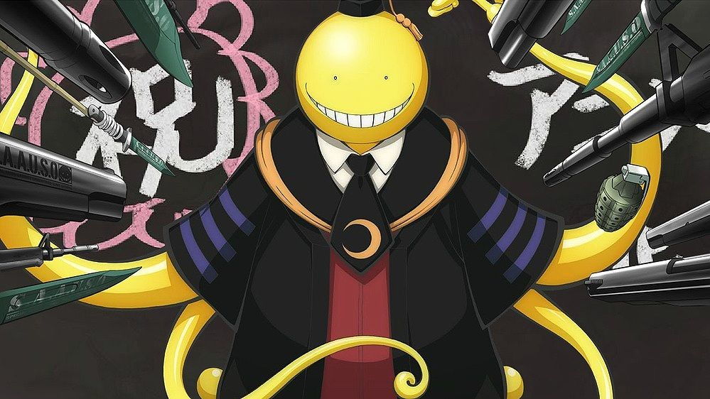 Art of Assassination Classroom Anime, Assassin, Classroom