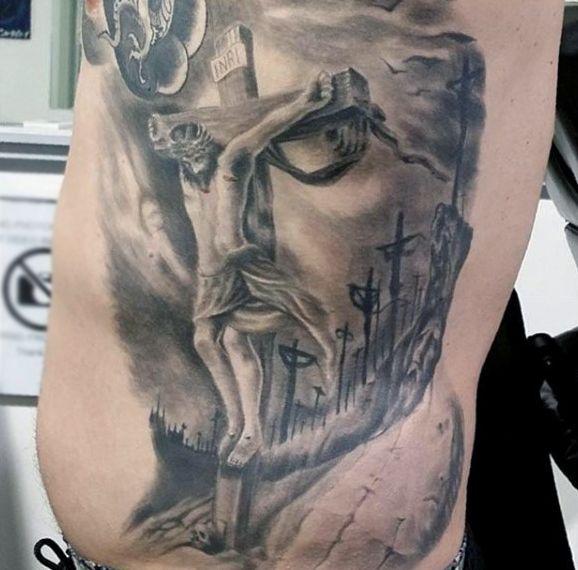 100 Optical Illusion Tattoos For Men - Eye Deceiving ...