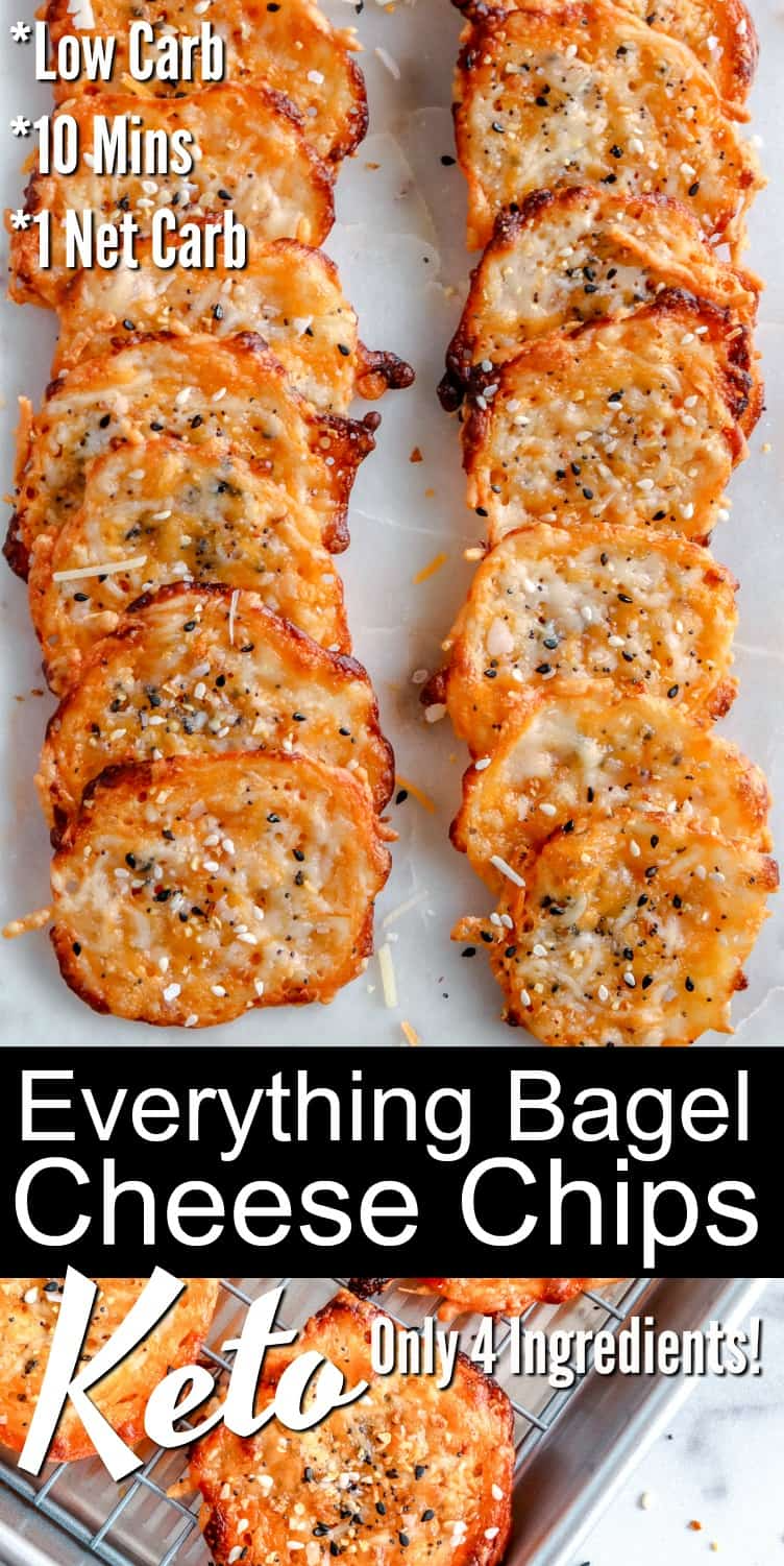 Keto Everything Bagel Cheese Chips Recipe