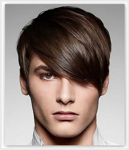 2014 Male Hairstyles Side Bangs | Emo hairstyles for guys, Boy haircuts long, Boy hairstyles