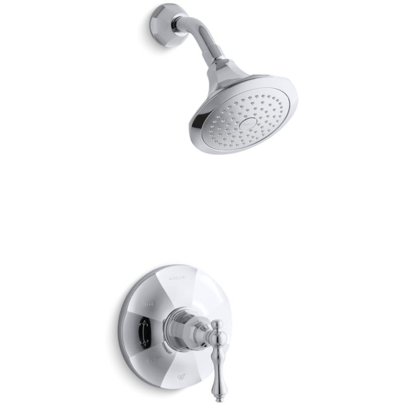 Kohler K Ts13493 4e Shower Faucet Shower Heads Polished Chrome