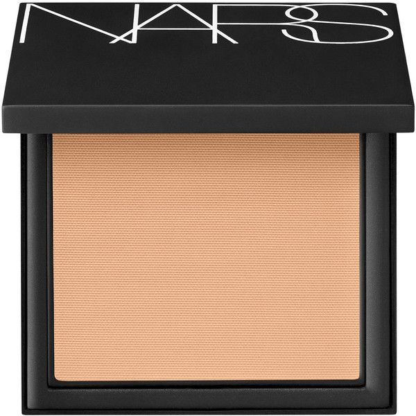 Nars Luminous Powder Foundation Deauville ($50) ❤ liked on Polyvore featuring beauty products, makeup, face makeup, foundation, powder foundation, matte finish foundation, sheer foundation, matte foundation and nars cosmetics