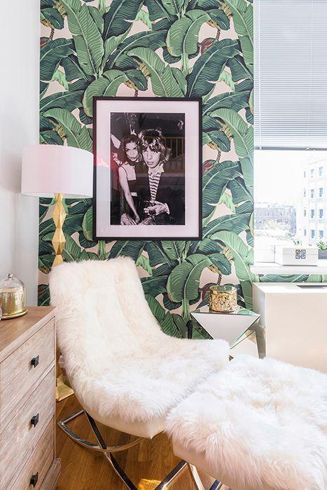 Wallpaper Picks My Favorite Palm Leaf Looks The Decorista