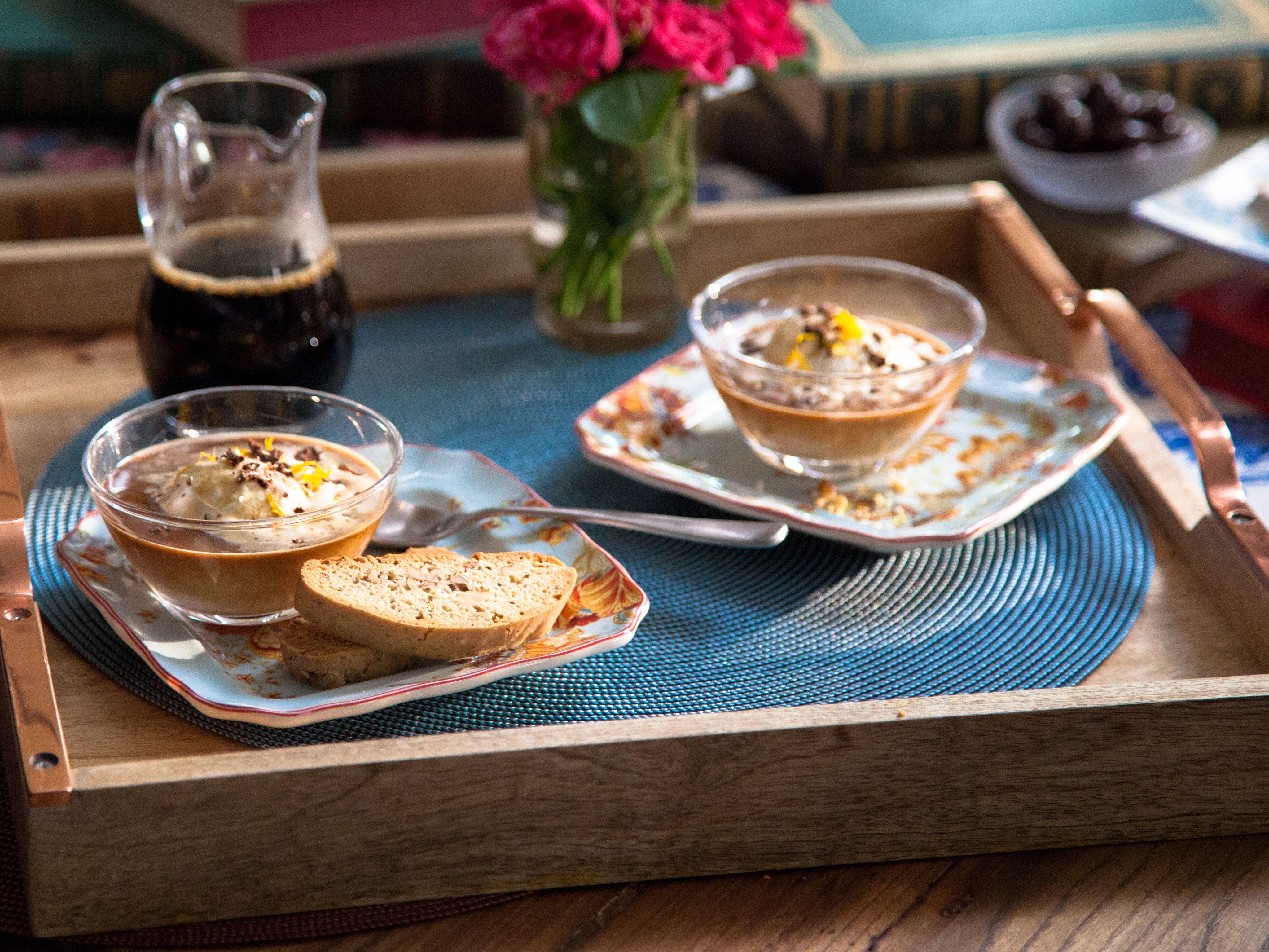 Helen's Black Pepper Walnut Biscotti recipe from Valerie Bertinelli via Food Network