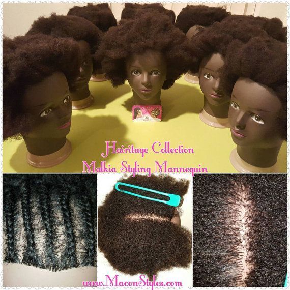 Hairitage Collection Afro 4c Textured Cosmetology By Maconstyles Natural Hair Styles Hair Mannequin Hair Techniques