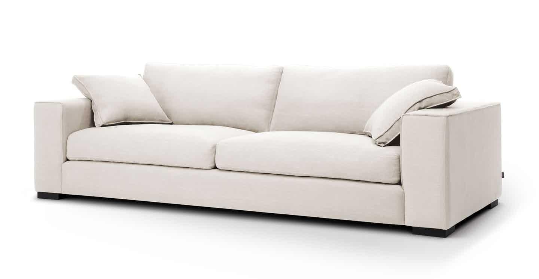Sitka Quartz White Sofa Modern Sofa Couch Modern Sofa White Sofas