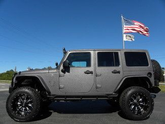 2016 Jeep Wrangler Unlimited Rhino Rubicon Fuel Dv8 Smitty Fox Fab