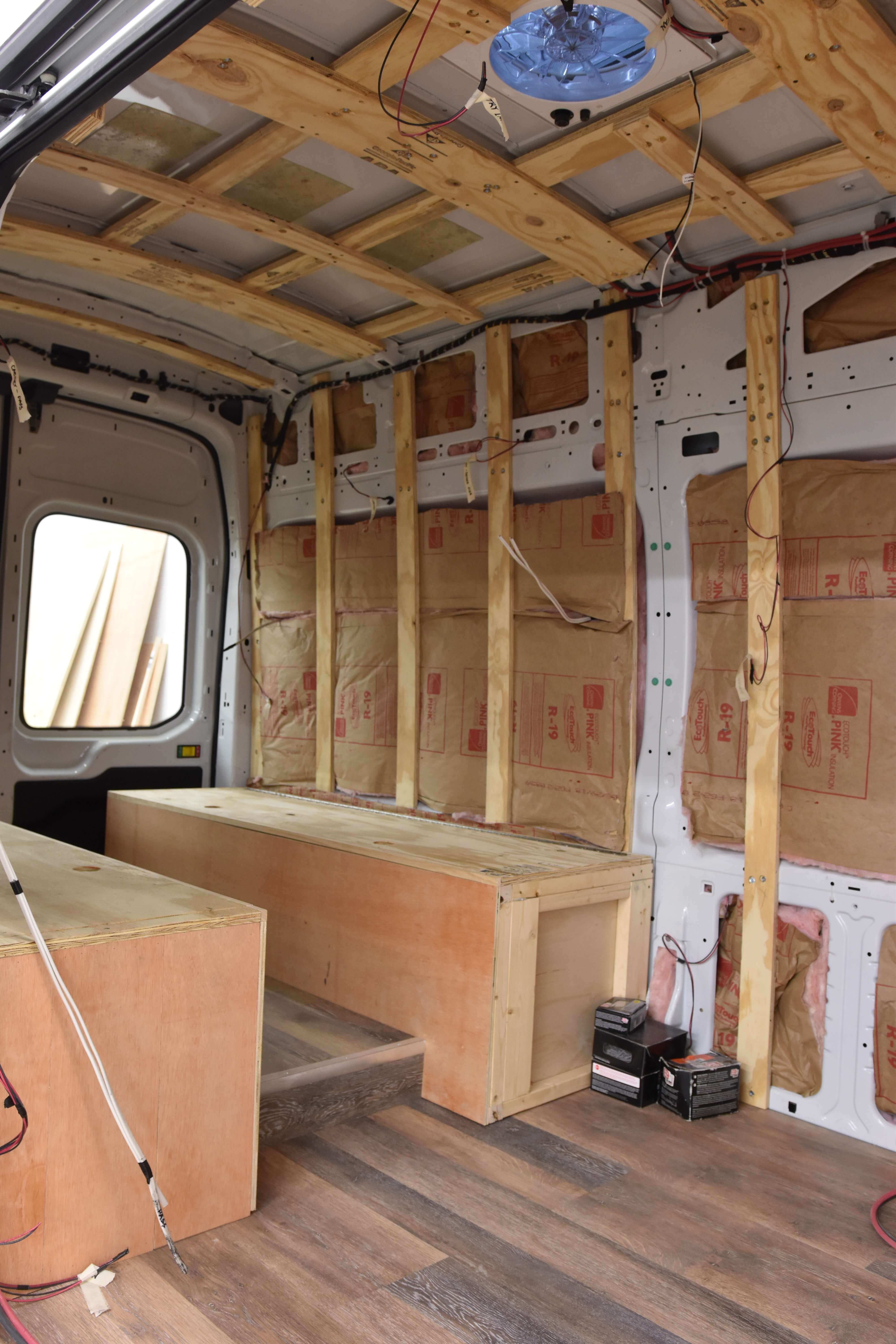 Van Conversion Insulation Divine On The Road Van Conversion Insulation Van Conversion Interior Van Life Diy