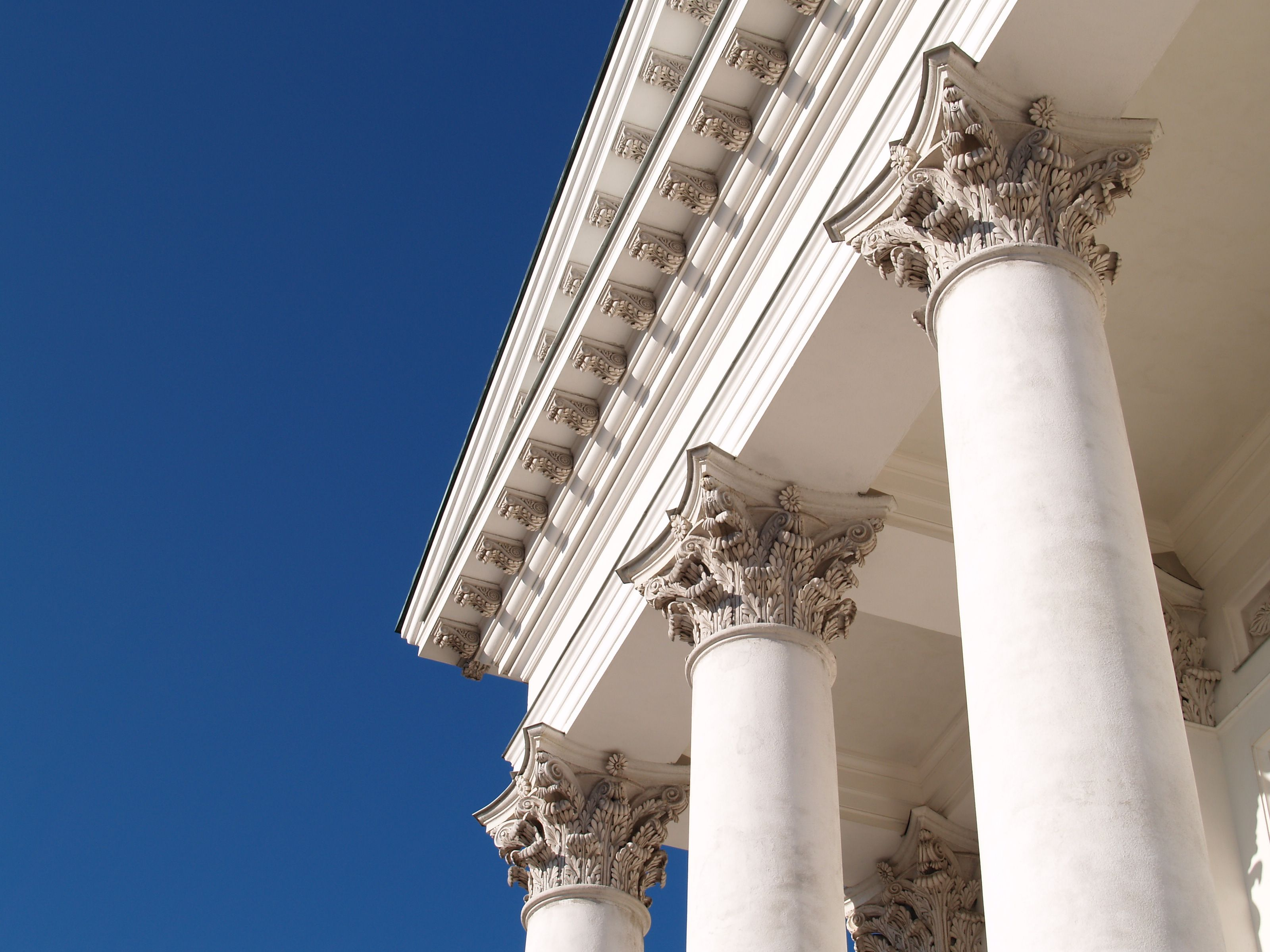 Roman Corinthian Order Columns : Corinthian order helsinki lutheran cathedral this is the