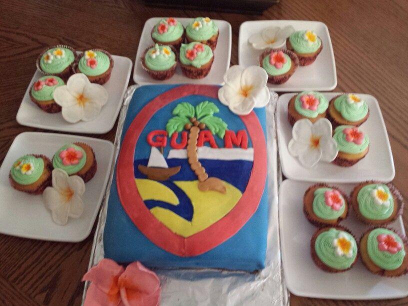 Guam theme desserts