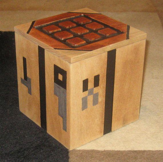 Minecraft Crafting Table Etsy Craft Table Minecraft Crafts Minecraft Bedroom