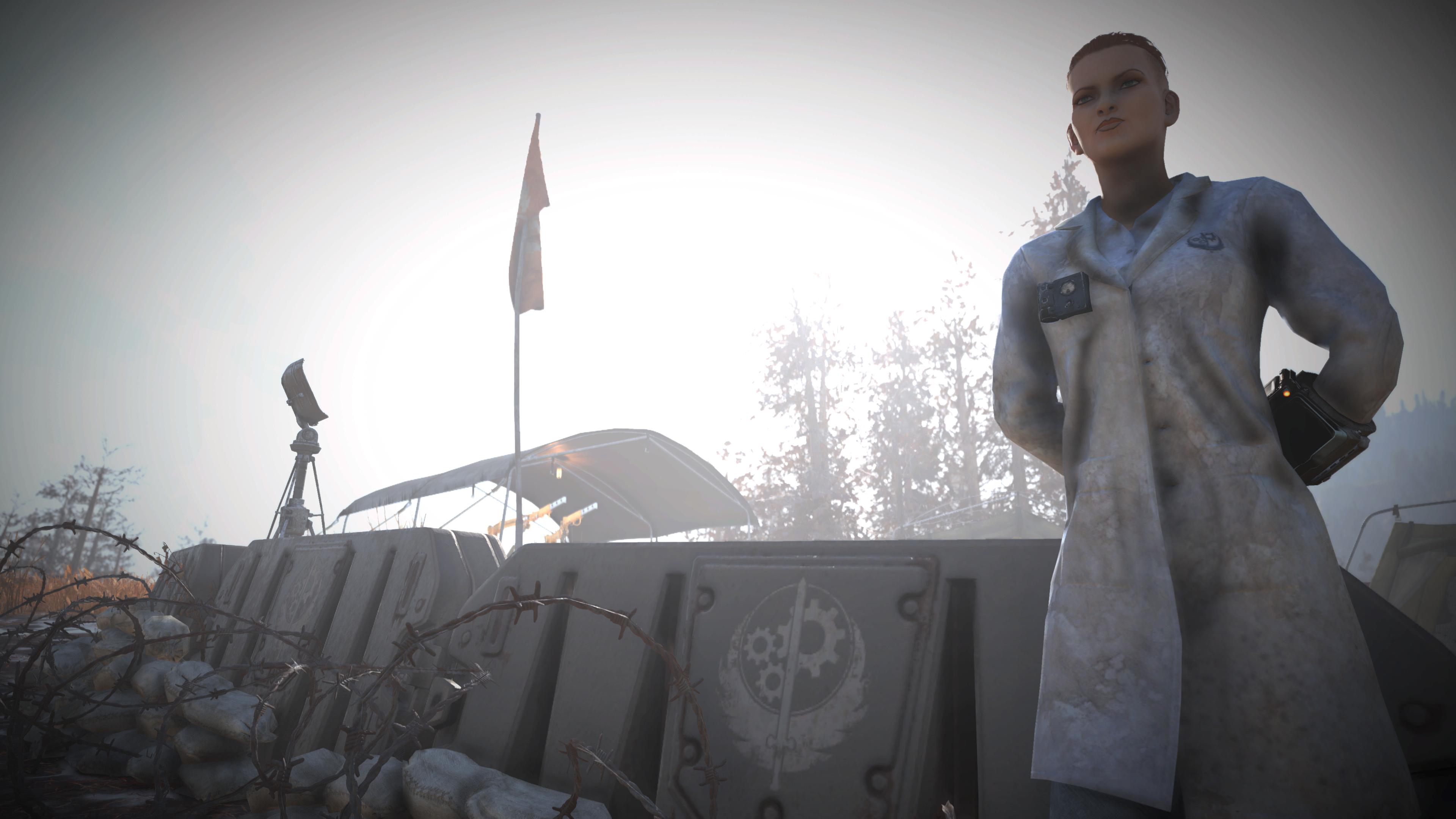 Fallout 76 - Brotherhood Lab Coat | Outfits (Fallout 76