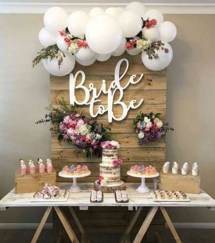 26+ Ideas Rustic Bridal Shower Backdrop