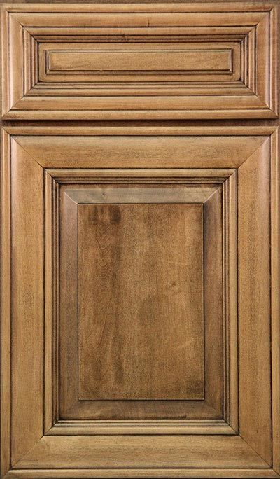 Woodmont Cabinet In Versailles Maple Chestnut Raised Panel 5 Pc