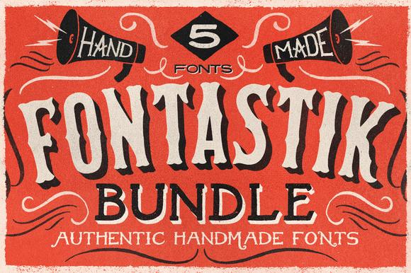 Check out Fontastik Bundle by ThunderPixels Store on Creative Market
