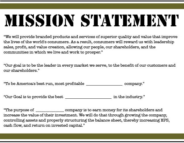 28 business mission statement template in 2020  business