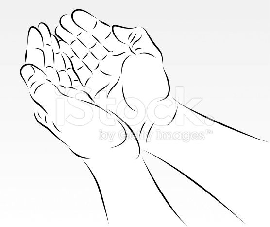 stock-illustration-14458360-cupped-hands.jpg (556×467)