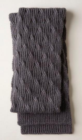Reversible Rivulet Scarf in 2020 | Knitting patterns free ...