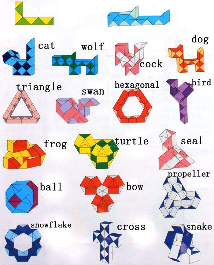 Pin By Jinnie Ponder On Rubik Board Pinterest Rubik Snake Snake Amazing Rubik's Snake Patterns