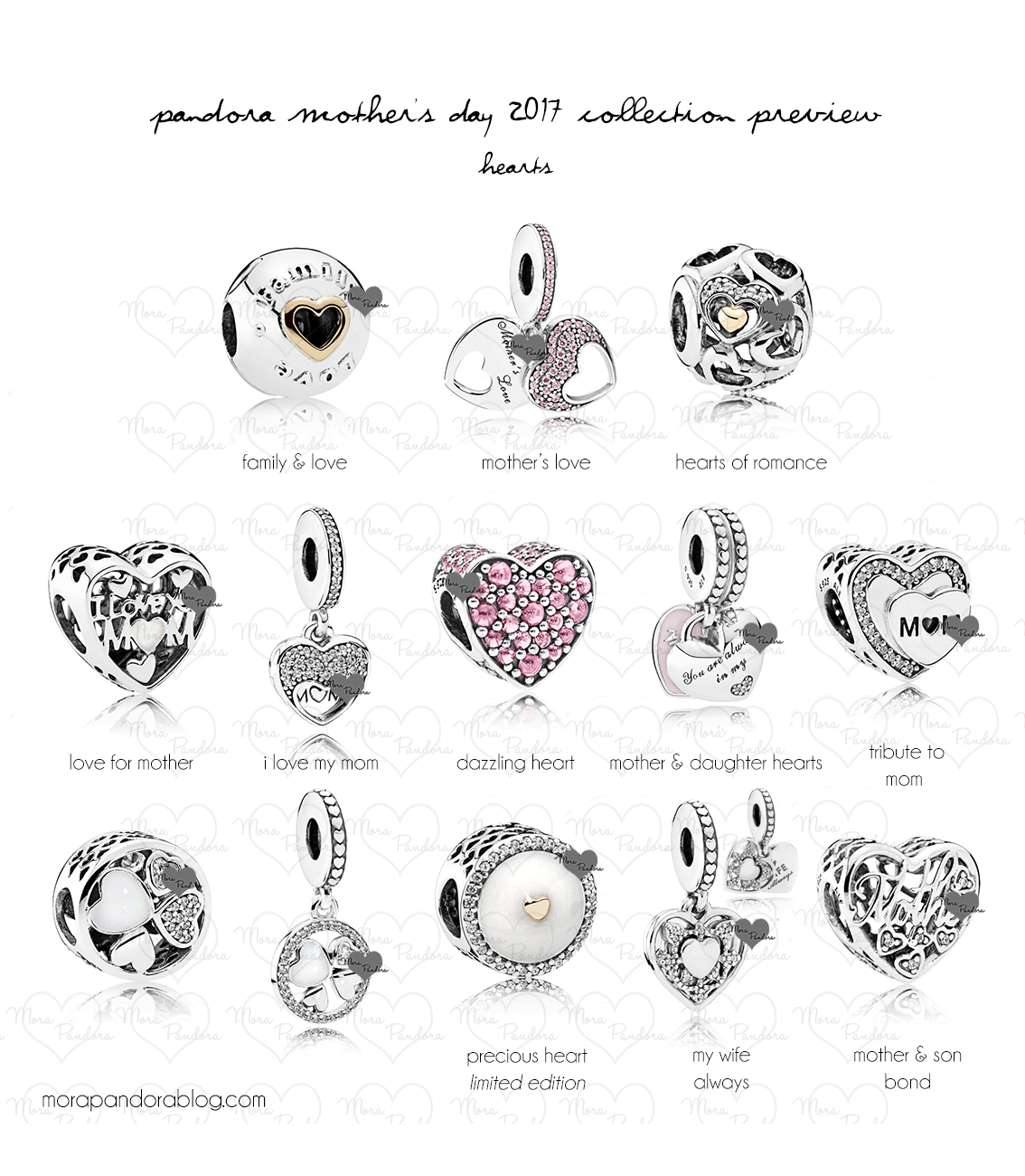 Pandora Mother S Day 2017 Collection